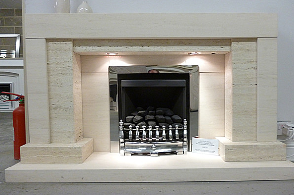 Luna Fireplace Range
